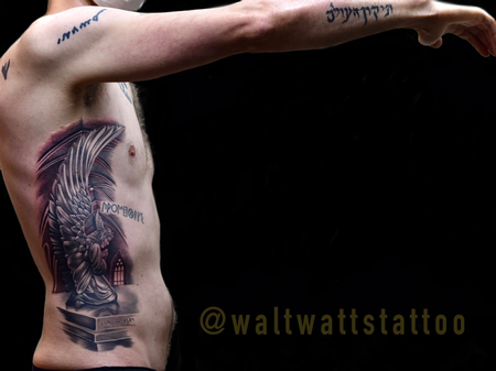 tattoos/ - Walt Watts Praying Angel - 142131